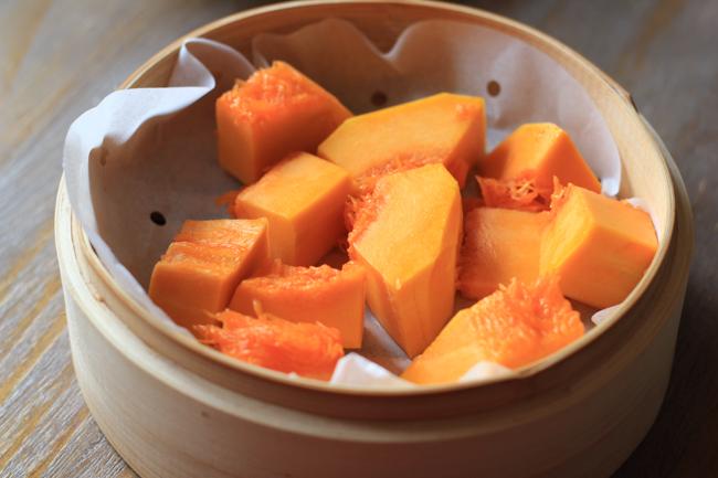 Steamed Pumpkin Buns