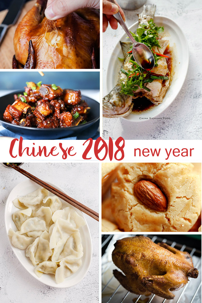 Chinese new year recipe for 2018