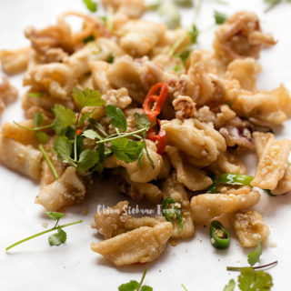 salt and pepper squid| chinasichuanfood.com