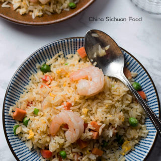 Chinese fried rice (Yangzhou version)|chinasichuanfood.com