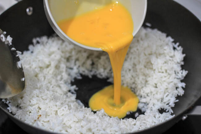 Chinese fried rice (Yangzhou version)|chinasichuanfood.com