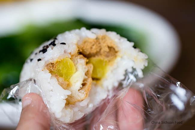 Zi Fantuan, stuffed sticky rice balls | chinasichuanfood.com