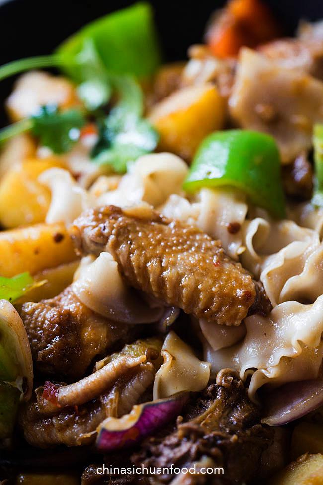 big plate chicken (dapanji) steps | chinasichuanfood.com
