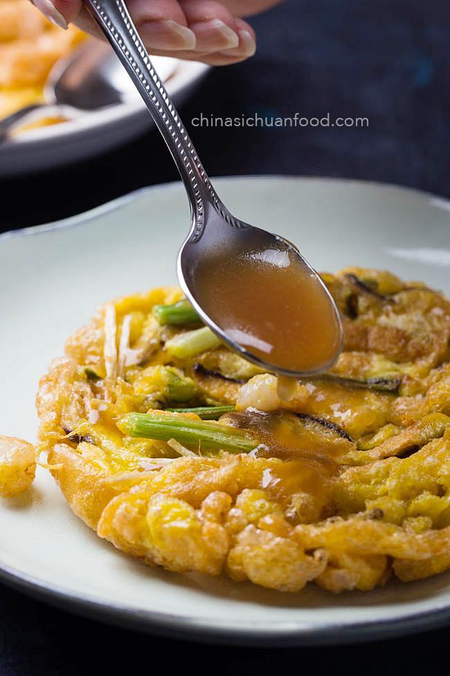 shrimp egg foo young | chinasichuanfood.com