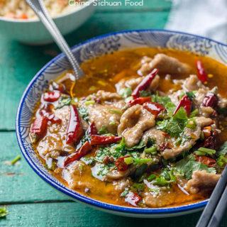 Shui Zhu Beef (Sichuan Boiled Beef)