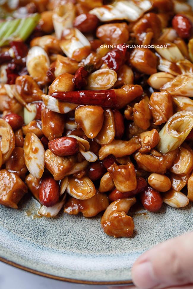 Kung pao chicken|chinasichuanfood.com