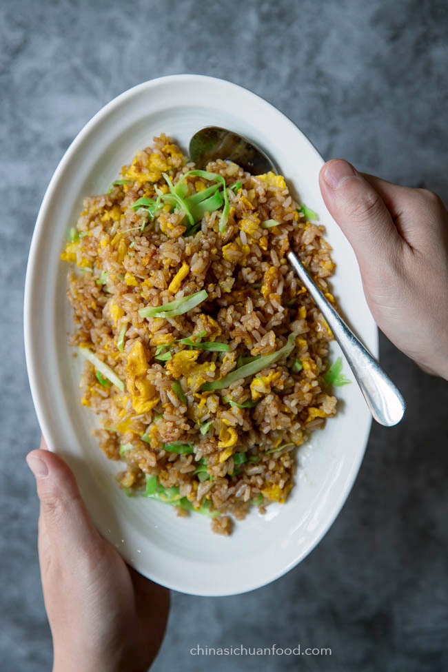 soy sauce fried rice|chinasichuanfood.com