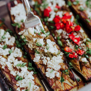 roasted eggplants with garlic | chinasichuanfood.com