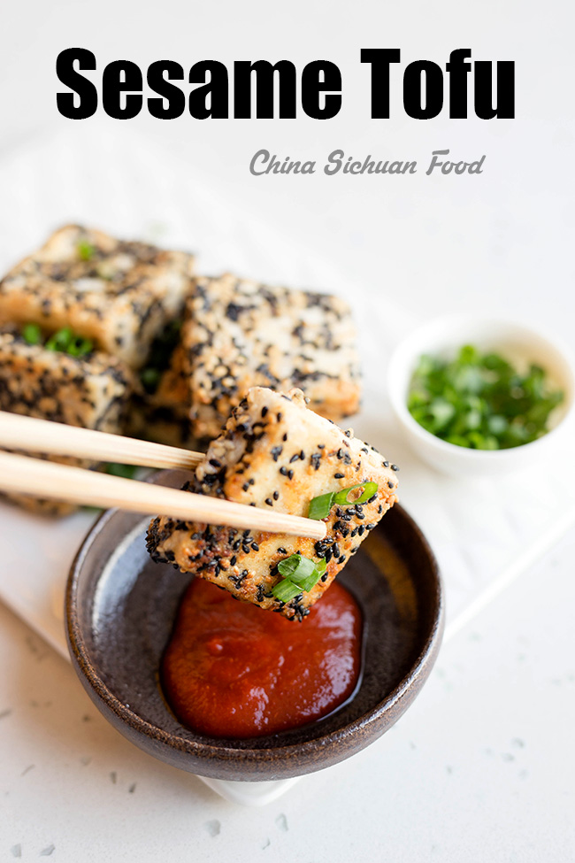 Crispy Sesame Tofu – China Sichuan Food