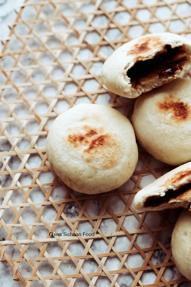 Chinese brown sugar bread (Guo Kui)