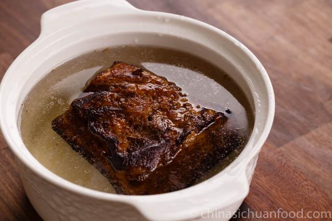Mei Cai Kou Rou | Steamed pork belly with preserved mustard