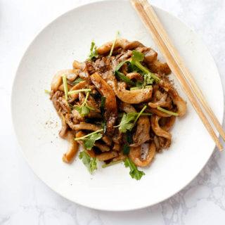 Oyster Mushroom Stir Fry
