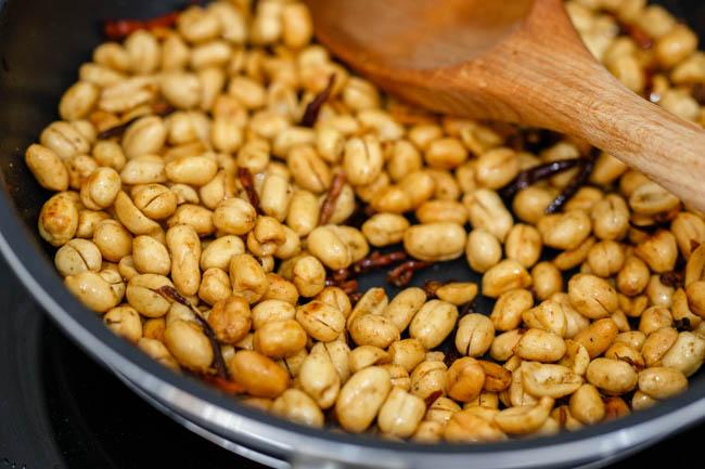 spicy peanuts, mala peanuts| Chinasichuanfood