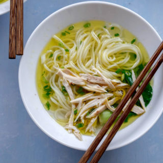 Chinese chicken noodle soup| chinasichuanfood.com