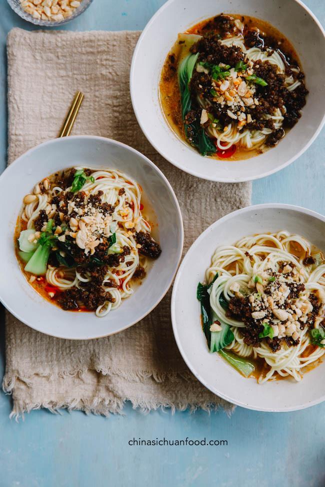 Dan Dan Noodles |chinasichuanfood.com