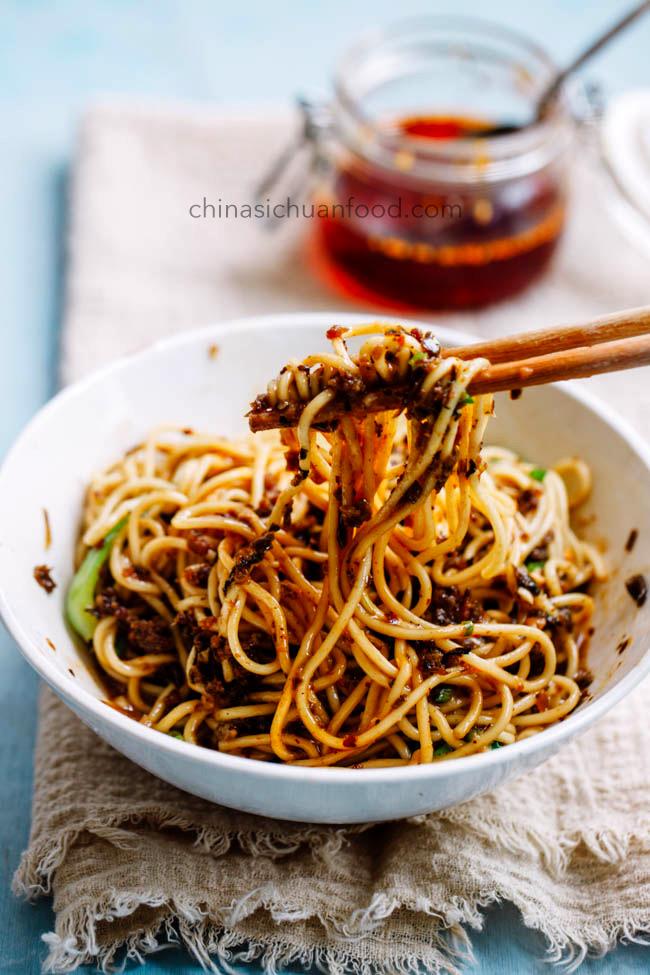 dan dan noodles|chinasichuanfood.com