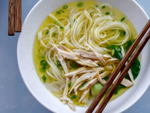 Chinese Chicken Noodle Soup China Sichuan Food