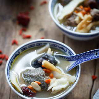 Herbal Chicken Soup (药膳鸡汤)