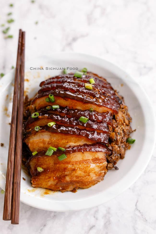 steamed pork belly | chinasichuanfood.com
