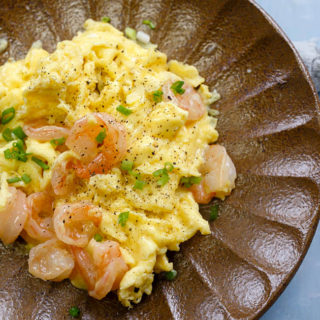 Shrimp with Scrambled Egg