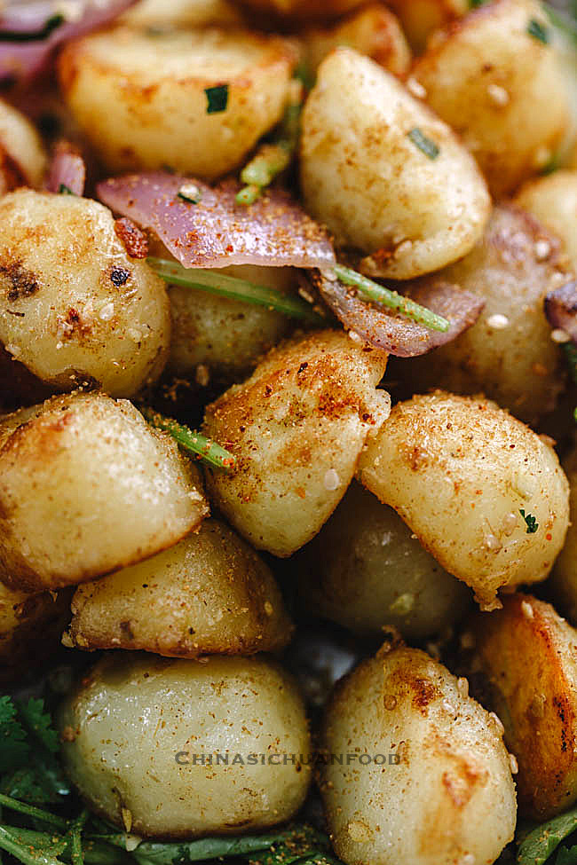 Spicy Small Potatoes| ChinaSichuanFood.com