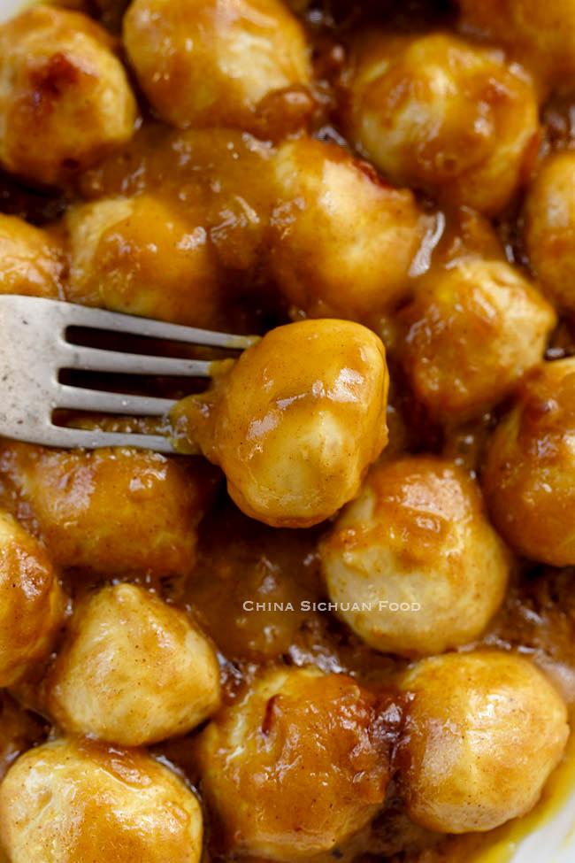 Curry Fish Balls| chinasichuanfood.com