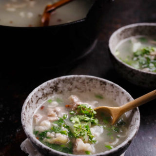 Winter Melon Soup with Sliced Lamb