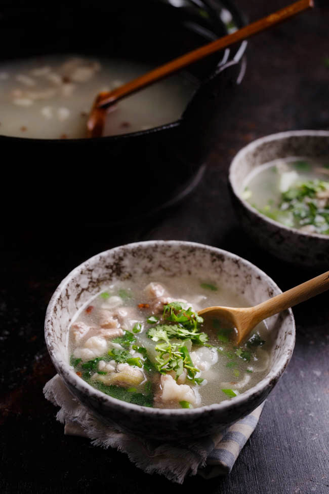 Winter melon soup with sliced lamb|chinasichuanfood.com
