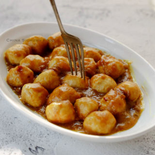 Curry Fish Balls|chinasichuanfood.com
