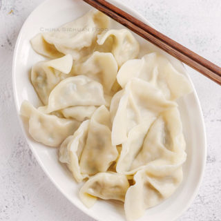 How to make Chinese dumplings|chinasichuanfood.com