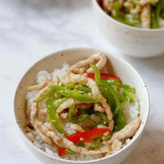 Shredded pork and green pepper stir fry|chinasichuanfood.com
