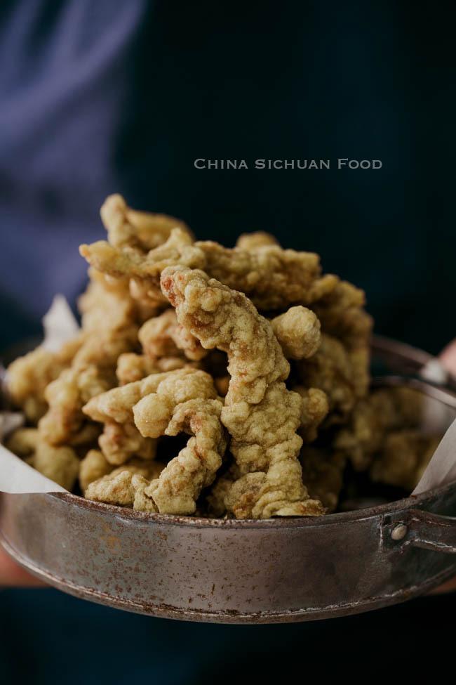 Sichuan crispy pork