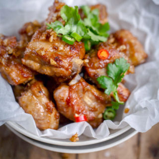 Fried Garlic Ribs |Chinasicihuanfood.com