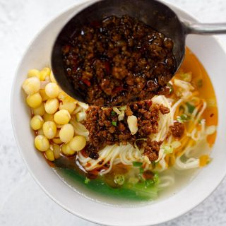 Sichuan meat sauce noodles|chinasichuanfood.com