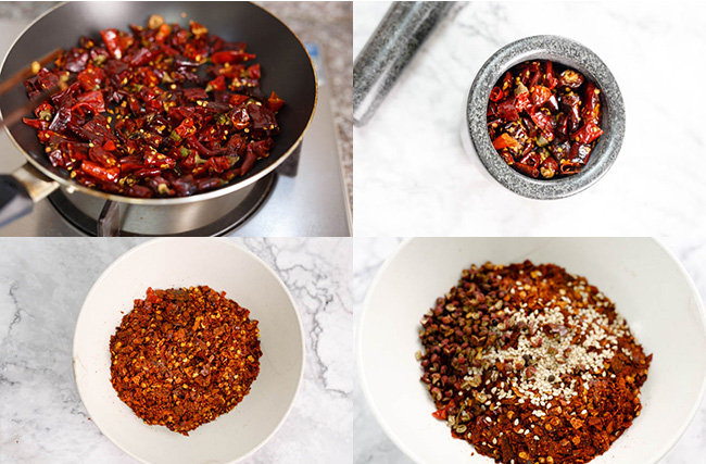 How to make Chinese chili oil|chinasichuanfood.com