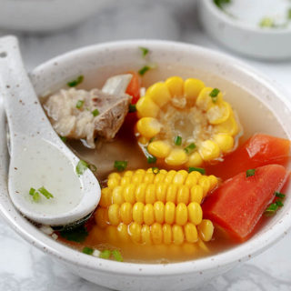 rib and corn soup|chinasichuanfood.com