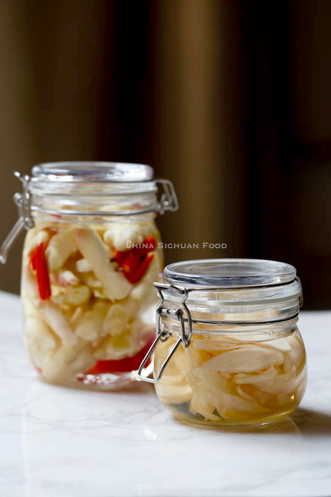 Pickled Ginger China Sichuan Food