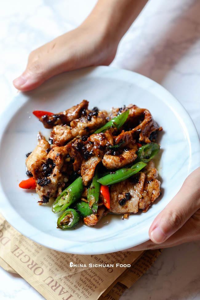 pork in black bean sauce|chinasichuanfood.com