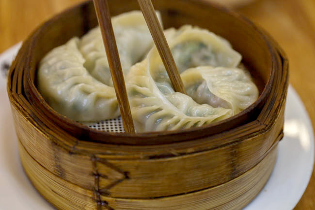 Chinese breakfast|steamed dumplings