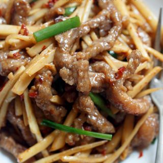 ginger beef stir fry|chinasichuanfood.com
