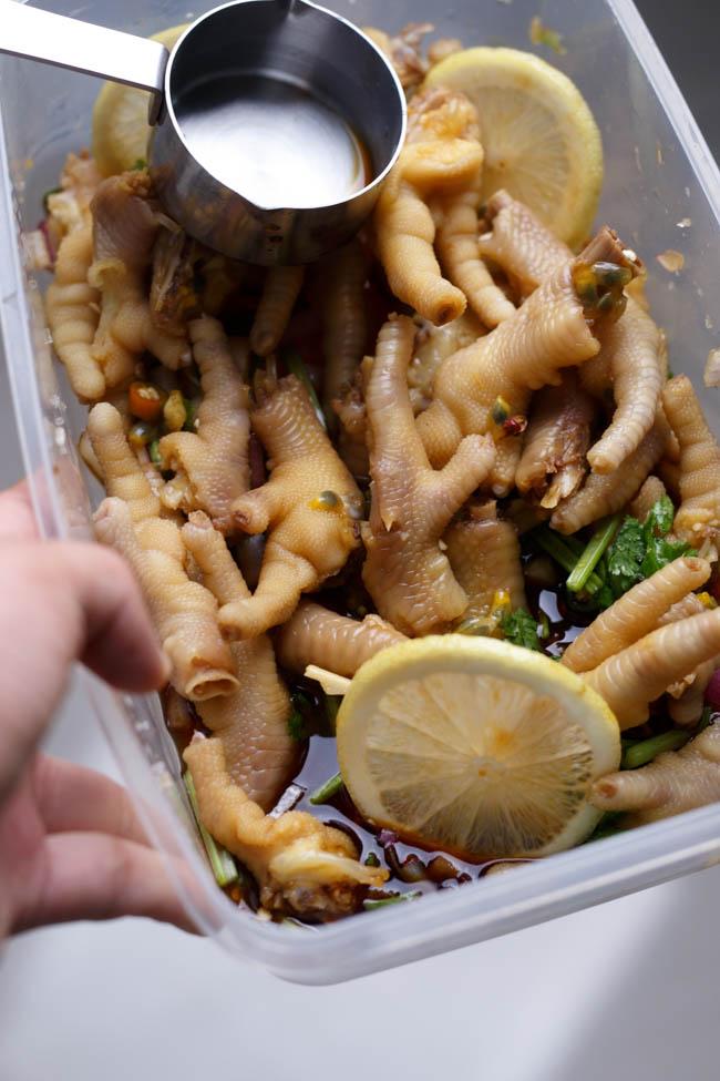 Chicken feet salad|chinasichuanfood.com
