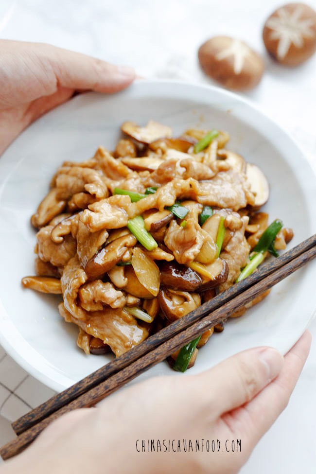 China sichuan food chinese recipes and eating culture pork and mushroom stir fry forumfinder Images