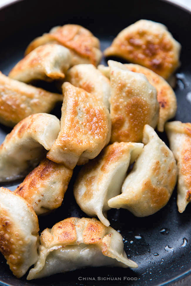 Chinese chive potstickers|chinasichuanfood.com