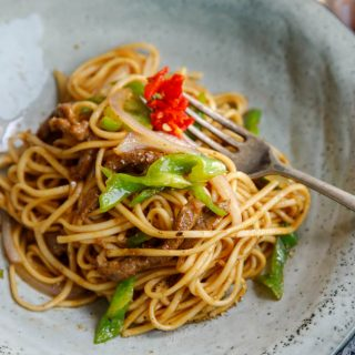 black pepper beef chow mein|chinasichuanfood.com