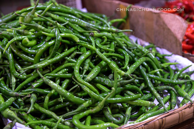 Long chili green pepper|chinasichuanfood.com