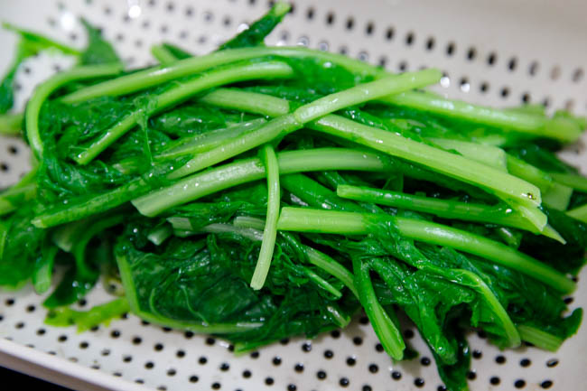 Radish Turnip Green Stir fry