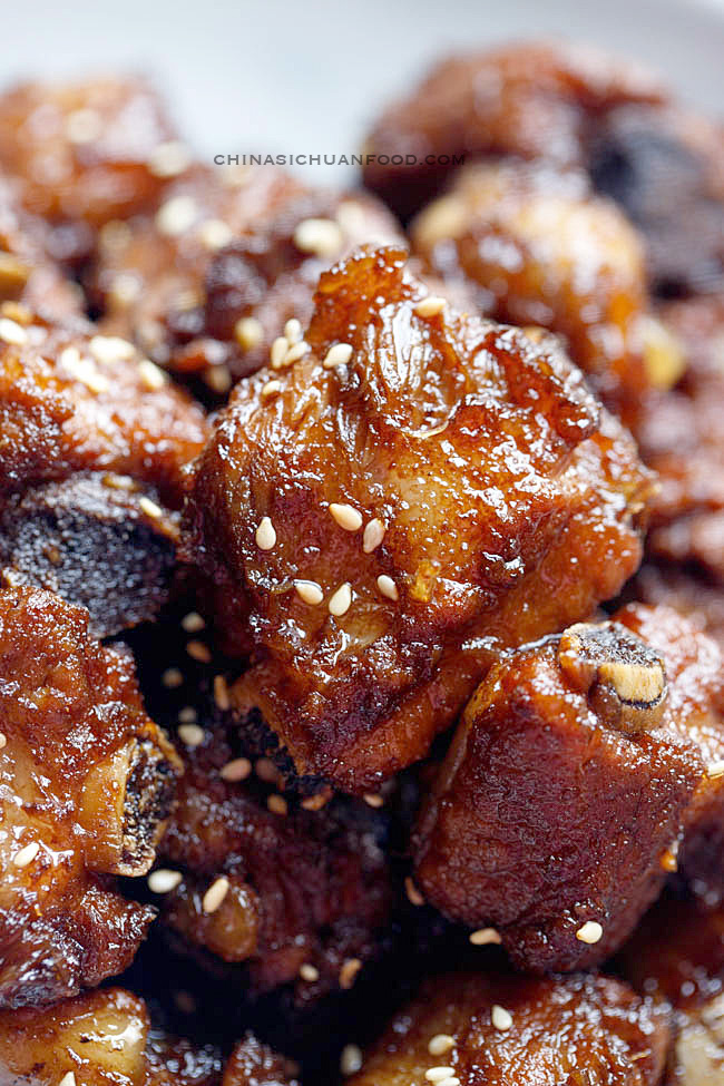 simplified sweet and sour ribs|chinasichuanfood.com