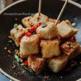 salt and pepper tofu|chinasichuanfood.com