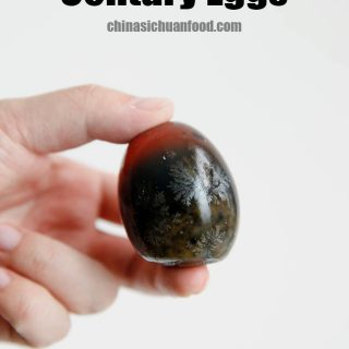 Century eggs|chinasichuanfood.com