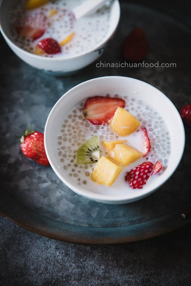 how to cook sago |chinasichuanfood.com